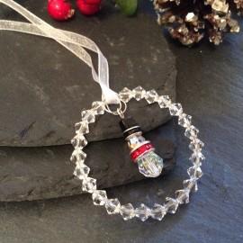 Swarovski Christmas Decoration - Snowman