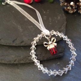 Swarovski Christmas Decoration - Present (small)