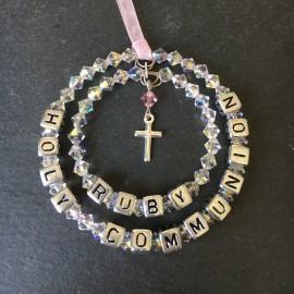 Swarovski Holy Communion-Christenining Personalised Decoration