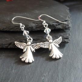 Angel (1) Charm Earrings