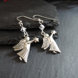 Angel (3) Charm Earrings
