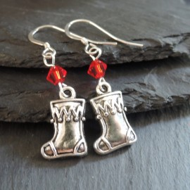 Stocking (2) Charm Earrings