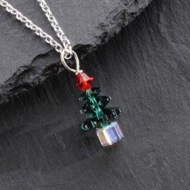 Swarovski Christmas Pendant - Tree (small)