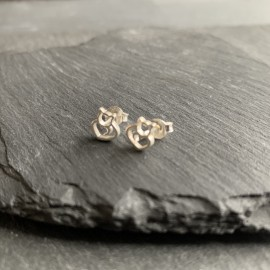 Sterling Silver Studs - Cat
