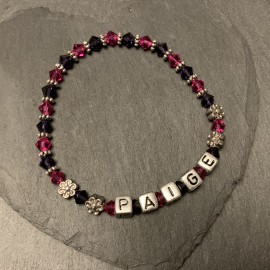 Swarovski Personalised Bracelet